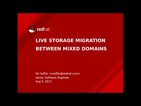 [oVirt 3.6 deep dive] - live storage migration between mixed domains