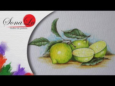Limões em Tecido  217
