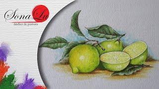 Baixar Limões em Tecido (Aula 217)
