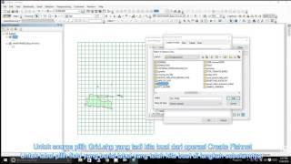 Mengubah Satuan Grid (E menjadi BT, N menjadi LU) di ArcGIS