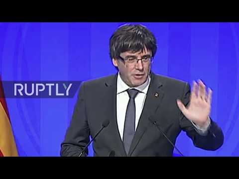 LIVE: Catalan government holds press conference after extraordinary closed-door meeting