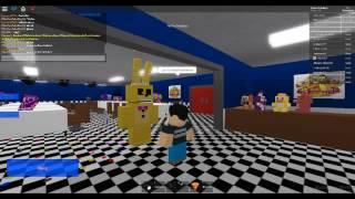 ROBLOX: MURDERER!!!!!! AHHHH  Animatronic World 