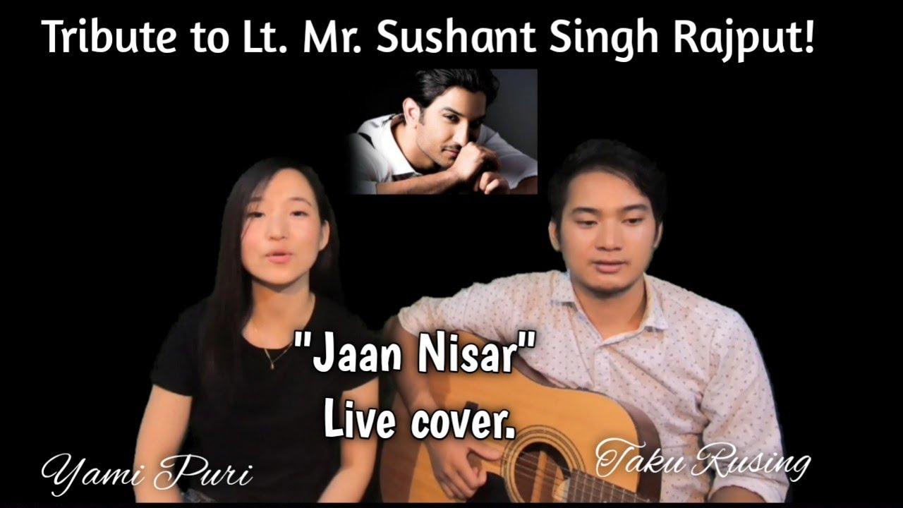 Jaan nisar|movie Kedarnath|Tribute to Sushant Singh Rajput| Yami Puri Live.