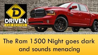 2017 Ram 1500 Night Edition Crew Cab Review