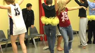 Comedy Hypnotist The SandMan makes boys wear tutus and dance like ballet stars - he