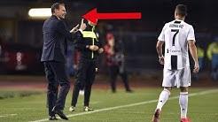 Juve-Trainer bestraft Cristiano Ronaldo !