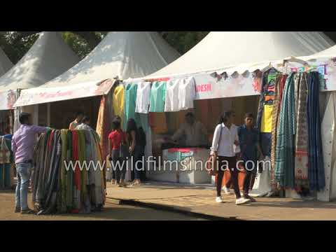 Main attraction of 'Paryatan Parv' is shopping for clothes and handicraft   | New Delhi