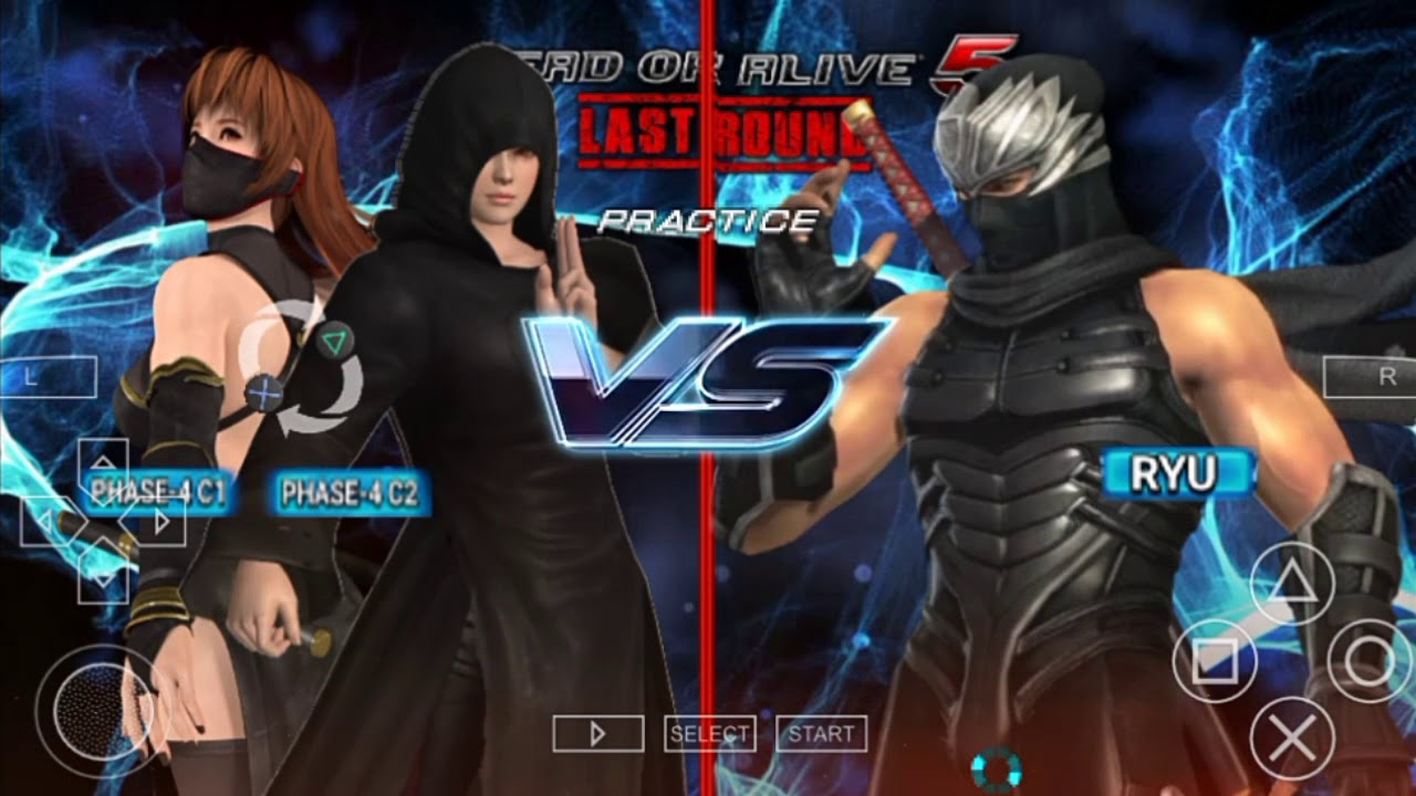 Dead or Alive 5 Last Round PPSSPP Android - (New Updates)