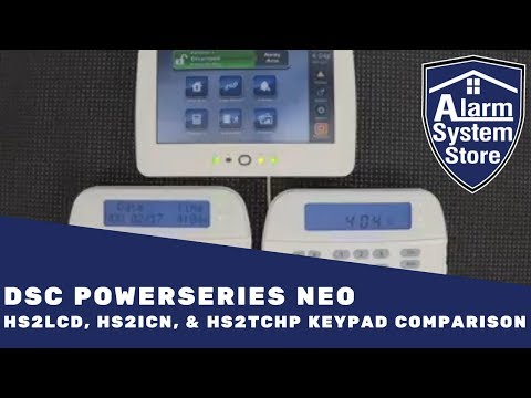 DSC PowerSeries NEO Keypad Comparison - Which One Should You Choose?