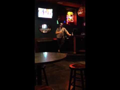 """""""Dust On The Bottle"""". Karaoke."""