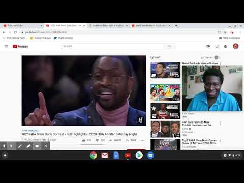 D  Wade robbed Gordon 2020 Slam Dunk Contest highlights Reaction