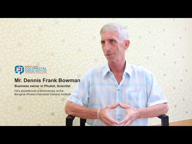 Colorectal Patient Testimonial - Bangkok-Phuket Colorectal Disease Institute