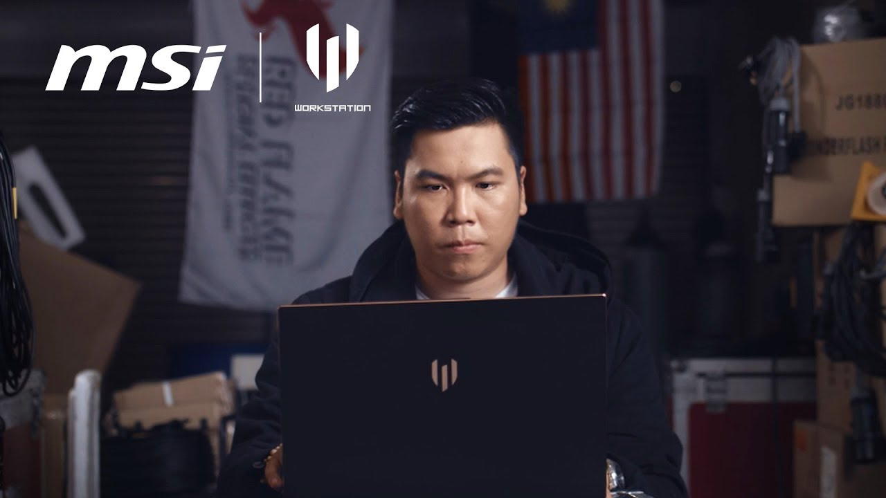 WS65 x Malaysia Day Collaboration | MSI
