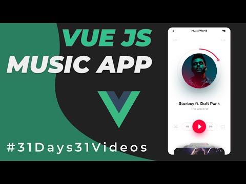 Build a Music app using VueJS   Tutorial for Beginners