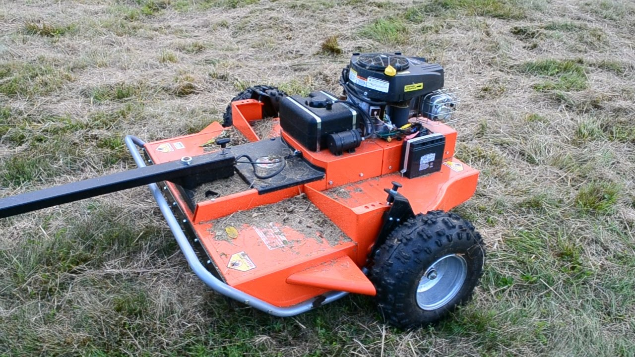 DR Tow-Behind Field Mower: Mowing & Thoughts