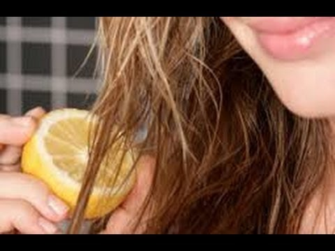 DIY Natural Hair highlighting Treatment w/ Lemon!