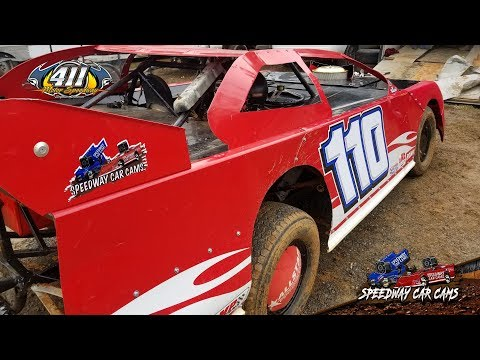 #110 Allen Hackworth - Modified Street - 12-29-18 411 Motor Speedway - In Car Camera
