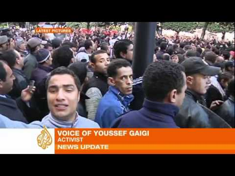 Tunisia: protests continue