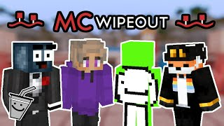 $1000 YouTuber Minecraft Wipeout ft. Dream, Skeppy, Fundy, TapL, \u0026 More (Season 1 Episode 1)