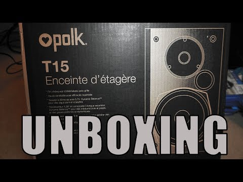 Polk Audio T15 Speaker Unboxing and Review