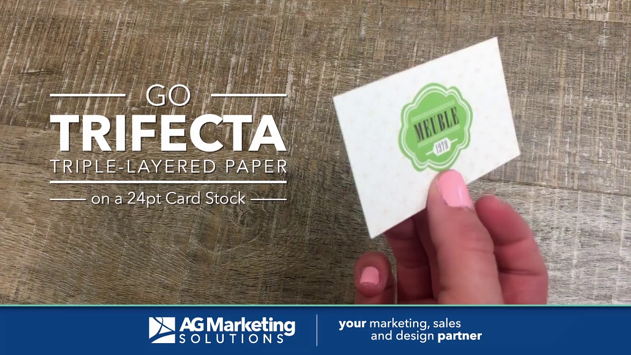 Trifecta Business Cards - YouTube