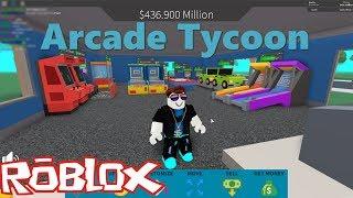 ROBLOX - I Build My Arcade Room - Tycon Arcade
