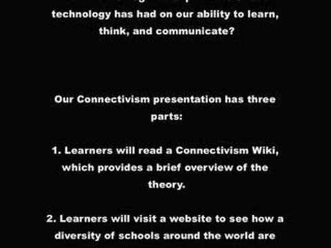 Connectivism Theory Presentation Overview