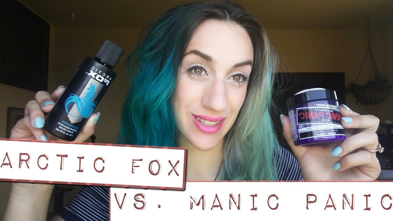 Manic Panic Vs Arctic Fox Best Blue Hair Dye Review