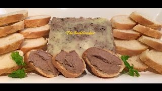 How To Make Chicken Liver Pâté - Pâté Gan Gà