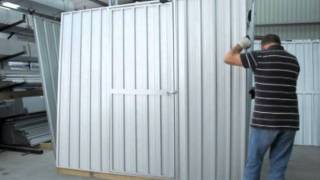 Flat Or Sloping Roof Assembly - Galvo Sheds