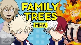 My Hero Academia Families Explained - Class 1-A | Get In The Robot