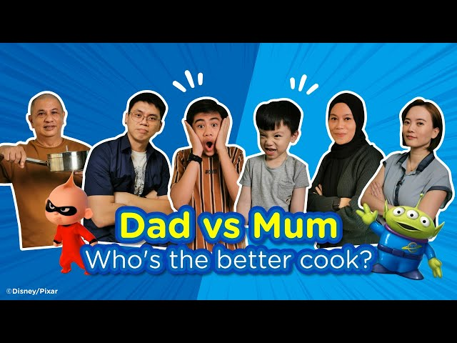Parents Turn Their Kid's Favourite Character Into Food! Who's Gonna Win? Mom Vs Dad Challenge 🏆