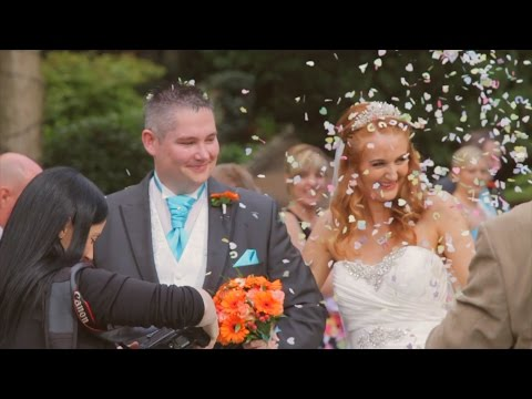 HAWKESYARD ESTATE Rugeley Wedding Highlights