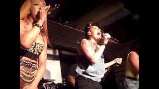 Black Heart - Stooshe 26.04.12 (Live Future Hits at Leeds Stylus) Part 3/4