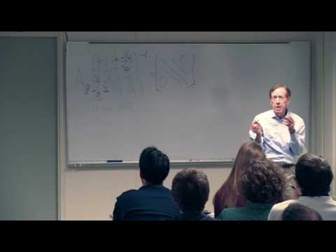 CAM Colloquium - Gilbert Strang: Tridiagonal Matrices in Four Applications