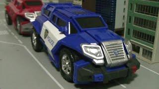 헬로카봇 트루 폴리스 장난감  Hello Carbot Police Truck Toys