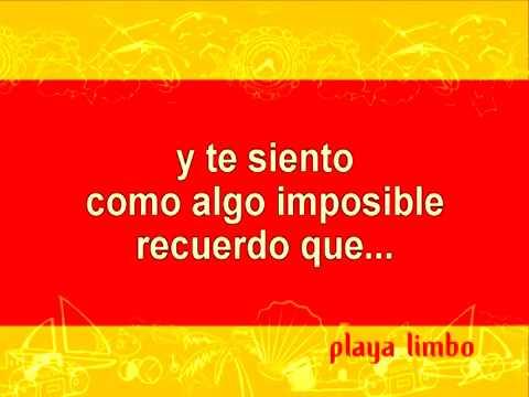 Playa Limbo - El Eco De Tu Voz (original Karaoke)
