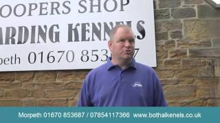 Coopers Shop Bothal Dog Boarding Kennels Newcastle & Nothumetland Day Care Also Avaiilableels