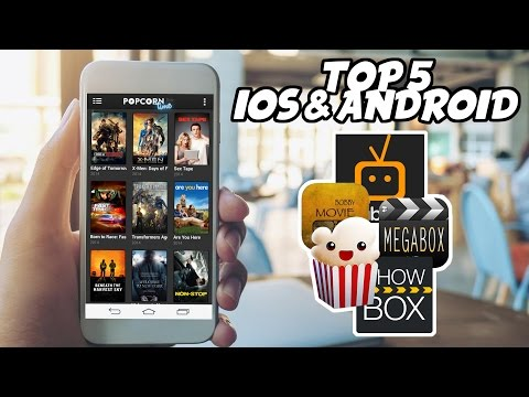 TOP BEST 5 ANDROID IOS FREE APPLICATIONS STREAMING FILM || 2017