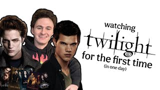 i watched every twilight movie in one day