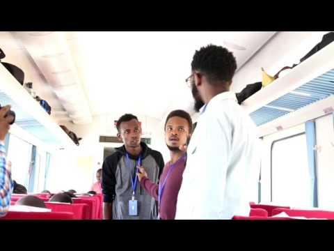 DRAMA ON BOARD KENYA'S SGR!! : #WajibuWangu