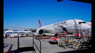 Brand New Qantas 787-9 Dreamliner Business Class Review - Sydney to Melbourne