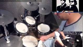 Soul Man - The Blues Brothers (Tutorial Drums School4Drums.com Drum Cover)