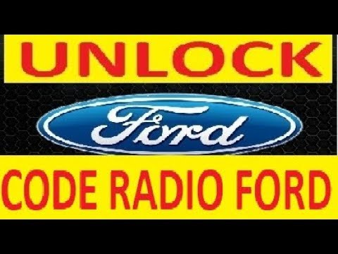 ford 6000 cd code generator v series