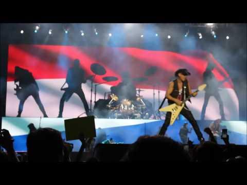 Scorpions en Paraguay - Resumen