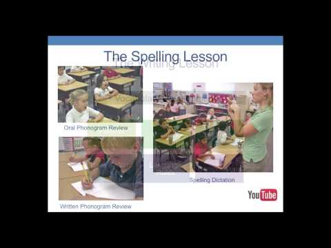 An Effective Method for Teaching Spelling, Writing and Reading