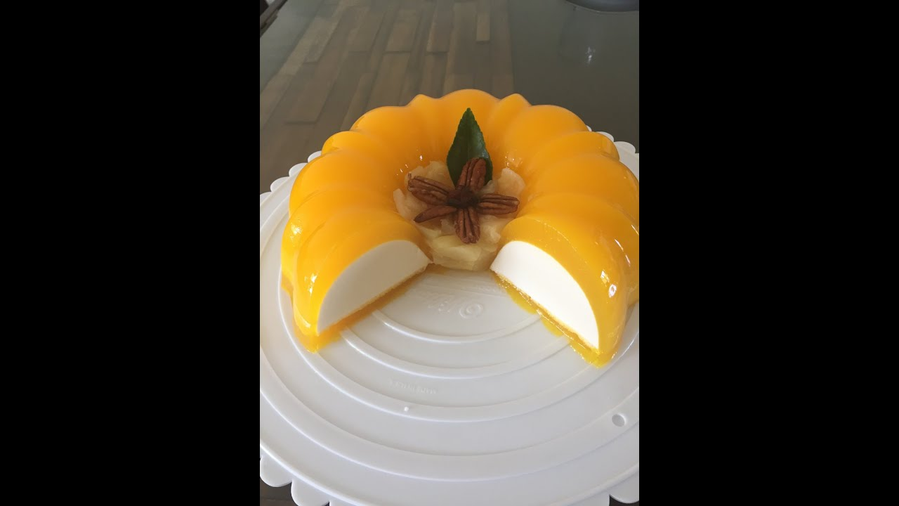 Flotatina gelatina de queso crema con mango youtube - Postres con frutas faciles ...