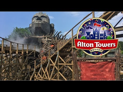 Alton Towers Vlog June 2018