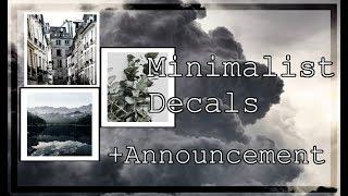 Minimalist Decal Id's - MrkelapaYT -