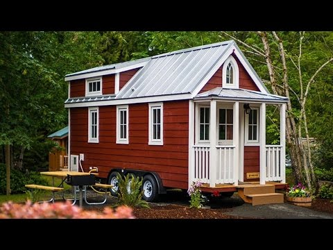 Scarlett Tiny House By Tumbleweed Tiny House Company Youtube